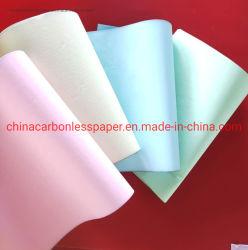 Безуглеродной копировальной NCR цветная бумага для печати копий