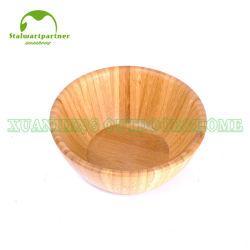 Küche-Salat-Filterglocke-gesetzte natürliche mischende Bambusumhüllung-Filterglocke