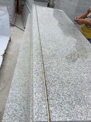 Factory Direct Rosa beta/G623 anti-patinage de l'escalier de granit gris/Étapes Prix dalle de pierre tuile pour l'extérieur