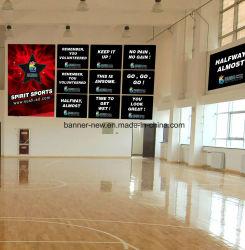 L'impression numérique couleur de la publicité le tissu de polyester de la bannière du pavillon