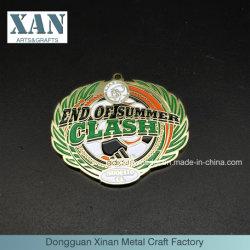 Custom Adidas Metallic Summer Special Enemal Made Medals
