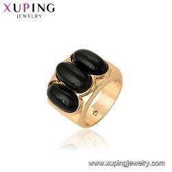 anello di barretta dell'oro 18K per le ragazze
