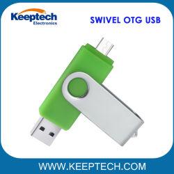 Schwenker OTG USB-Blitz-Laufwerk für androiden Handy und Computer