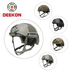 Prueba de balas militares Fast casco con cubierta de tela Nij IIIA