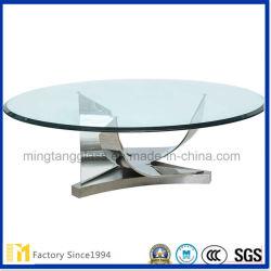 Commerce de gros 4mm 5mm de 6mm 8 mm pour la table de verre flotté et des meubles