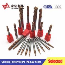 De stevige Bits van de Boor van het Carbide voor Scherp Staal voor de Machine van het Malen