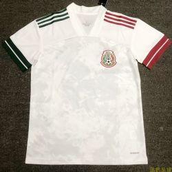 2019 2020 México White Soccer Jersey homens desgaste de futebol