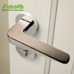 안쪽 문을%s 아연 로즈에 아연 합금 문 레버