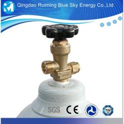 Réservoir de gaz d'oxygène avec CGA 540 Cylindre d'oxygène médical de soupape