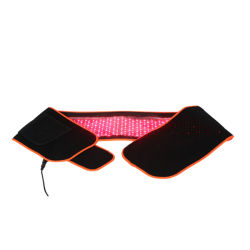 Тонкий корпус / Боли светодиодный индикатор терапии устройство обвязки сеткой с 660 635 850 длиной волны инфракрасных светодиодов красного фонаря