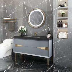Comercio al por mayor de madera maciza Osk European New tocadores de cuarto de baño Decoración