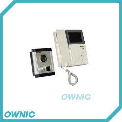 Oz3504ドアのアクセス制御のための視覚相互通信方式