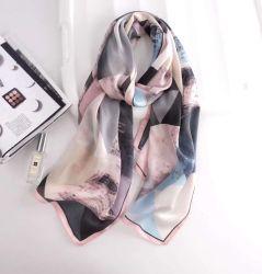 hete Verkoop &#160 van het Satijn van de Zijde van 180X65cm de Zuivere; Digitale Druk Hijab