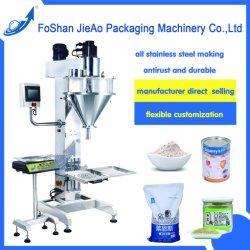 Halb automatische/manuelle Verpackung/Verpackmaschine/Maschinerie für Sojamehl/Kakao/Nährung-/Milch-Puder/die Gewürze, die mit Dichtungs-Maschine und Tintenstrahl-Drucker füllen