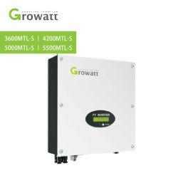 محول عامل بالطاقة الشمسية Growatt على محول الطاقة الكهربائية للشبكة بقوة 336 واط وبقوة 2200 واط نظام الطاقة الشمسية بقدرة 5000 واط مع محول بقوة 5500واط، مع أفضل سعر