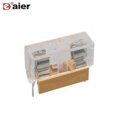 6A 250VCA Terminal PCB 5x20mm le bloc de fusibles avec couvercle transparent