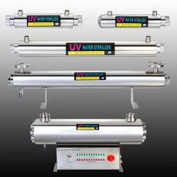 Ultravioleta de acero inoxidable de desinfección del agua tratamiento Esterilizador UV