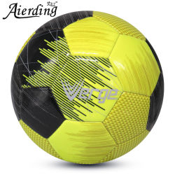 4# PU Ballon de soccer de couture de la machine