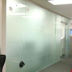 Akoestische Grote Melkachtige/extra Aangemaakte Constrution die Wit PVB Gelamineerd Glas voor Verdeling bouwen