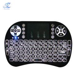 Беспроводная технология Bluetooth Mini USB 2.4G I8 игровой клавиатуры для Smart TV iPad планшетный ПК