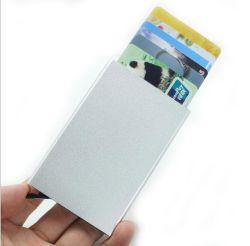 Slim-Fold Security Kreditkartenhalter Tasche für Herren