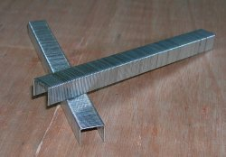 Staple/Fine Wire Staple/22ga Staple/Industral Staple/مغلفن