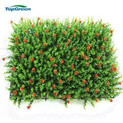 حديقة بينيّة جدار سياج بلاستيكيّة ورقة اللون الأخضر حديقة معمل اصطناعيّة لأنّ سياج