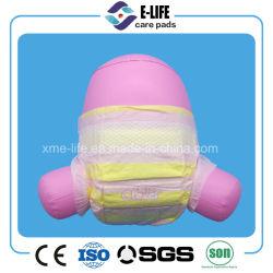 Средних горячей продажи хлопка Baby Diaper с Magic ленту