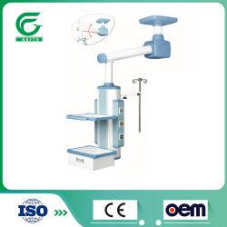 Un gas medico Pendant Pendant motorizzato braccio della stanza di funzionamento del ponticello del soffitto della strumentazione dell'ospedale di automazione dota
