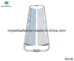 M-C02 primo soccorso paletta a cucchiaio per ampolance in lega di alluminio per raggi X.
