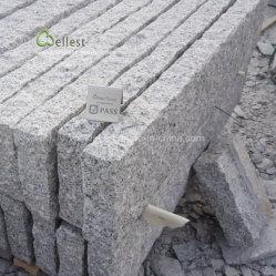 Bordillos de granito gris granito, frenar la piedra, el camino bordillos, Rough bloquear