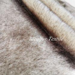 Tingidos de pelúcia em acrílico de alta qualidade Faux Guaxinim Artificial falso tecido de peles com pêlo