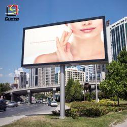 La structure de la publicité de plein air Trivision rétroéclairé de fabricants de panneaux de construction de la publicité