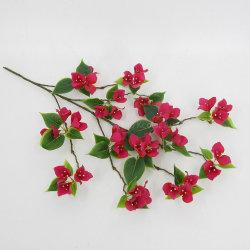 Fabrik-künstliche Bouganvilla-Baum-Großhandelszubehör-Silk künstliche Blumen-Zweige für Hauptdekor