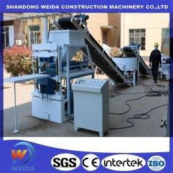 Легко управлять Китай машина для формовки бетонных блоков автоматическая блокировка кирпичные глины при нажатии кнопки механизма Qtc2-10