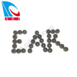 Auriculares desportivos Soft Tamanho Pequeno Tampões de silicone preta com BSCI