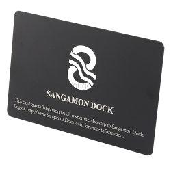заводская цена стандартного размера металлические Визитные карточки