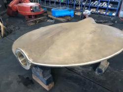 Parti Bronze/d'ottone/corpo/disco/piatto della valvola del pezzo fuso per la valvola a farfalla/valvola a saracinesca fatte dal pezzo fuso di sabbia