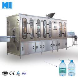 5L 7L 10L Grote het Vullen van de Productie van het Drinkwater van de Soda van de Fles van het Glas van het Huisdier Automatische Vloeibare Zuivere Minerale Fonkelende Gebottelde Spoelende het Afdekken 3in1 Bottelmachine
