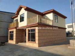 Préfabriqué confortable chambre de luxe Assemable légère en acier rapide Villa Maison de la Structure légère en acier