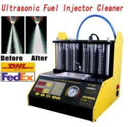 Autool Mini-Automobilultraschallwellen-Einspritzdüse-Reinigungsmittel und Prüfvorrichtung 4 Zylinder-CT-150