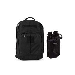 حقيبة ظهر Tac Essential ذات أسلوب تكتيكي، 25 لترًا، 1050d من النايلون، حقيبة راديو تكتيكية من الطراز 56643، حقائب/حزم/دوفيلز متوافقة