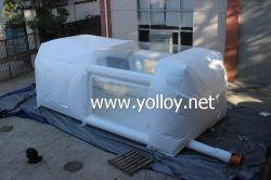 Carro insuflável tenda Portable cabine de pintura para vendas
