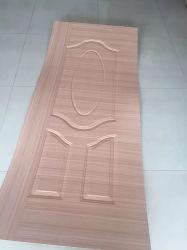 Nouveau design 915*2135mm chêne naturel/cendres/placage de bois de teck moulé Sapele/HDF porte pour l'intérieur de porte de la peau