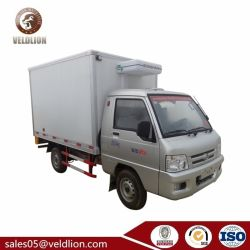 Kleines Foton Minikühlvorrichtung Box Refrigerator Van Truck 1 - 2 Tonnen-T
