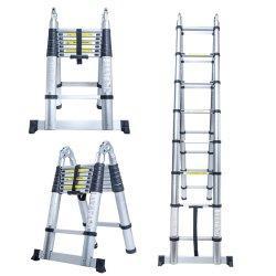 En131 16,5 ft extension télescopique Ladder télescopique en aluminium Tall multi usages