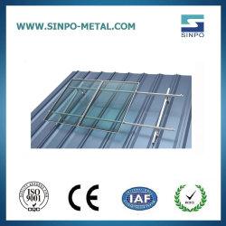 Support de panneau solaire de l'étain/métal Power Plant solaires sur le toit de la structure de montage pour les panneaux solaires