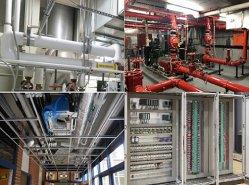 Dunbon fornece sistema profissional de construção. Água e sistema Waste-Water/fortes e fracos do sistema atual/sistema de HVAC/sistema de proteção...