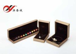 Imballaggio di cuoio/scatola presentazione/di memoria dei monili dell'unità di elaborazione/cassa per l'anello/collana/braccialetto/pendente