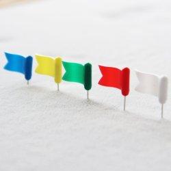 Новых фондовых пластика ABS красочный флаг цилиндрический штифт головки блока цилиндров